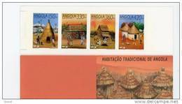 Angola--1992-Expo De Séville-Habitat Indigène-Carnet***MNH - Angola
