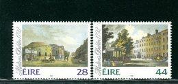 IRLANDA EIRE - MNH NUOVI PERFETTI - 1992  VEDUTE DI DUBLINO - 1949-... Repubblica D'Irlanda