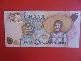 GHANA 5 CEDIS 1977 PEU CIRCULER (B.6) - Ghana