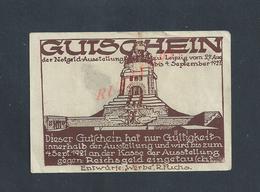 MILITARIA ALLEMAGNE BILLET DE BANQUE DE 1927 : - Banque & Assurance