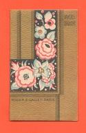 Forlì Profumi Calendarietto 1929 Piraccini Danilo  Parfumes Roger & Gallet Saponi Cipria Brillantina Ecc. - Klein Formaat: 1921-40