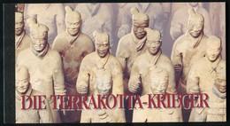 UNO Wien: Markenheftchen 2 UNESCO-Weltkulturerbe Terrakotta-Krieger 1997, ** - Libretti