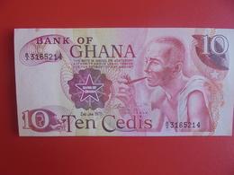 GHANA 10 CEDIS 1978 PEU CIRCULER (B.6) - Ghana