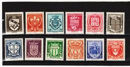 POST387 FRANKREICH 1941 Michl 538/49 ** Feinst Postfrisch SIEHE ABBILDUNG - Frankreich