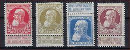 Lotje Grove Baard MH * Nrs. 74 , 75 , 76 En 77 ; Staat  Zie Scan ! Inzet Aan 7,5 €  ! - 1905 Thick Beard