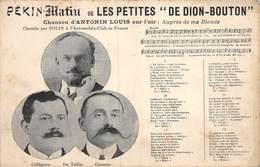 PIE.Montr.19-9667 : PEKIN MATIN OU LES PETITES DE DION-BOUTON. AUTOMOBILE. RAID PARIS PEKIN - China