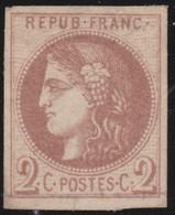 France  .   Yhtvert   .     40  Report  2?   (2 Scans)  .        (*)          .       Pas De Gomme  .   /   .     No Gum - 1870 Emission De Bordeaux