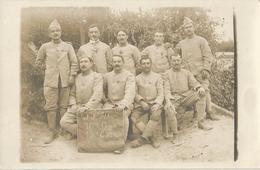 Carte Photo Soldats Français , 95eme D'infanterie, 10eme Compagnie, 13eme Escouade   / 14-18 / WW1 / POILU - 1914-18