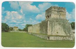 °°° 13759 - MEXICO - EL JUEGO DE PELOTA EN CHICHEN ITZA - 1971 With Stamps °°° - Messico