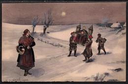 Carte Illustrateur Pologne. 1905 - Polen
