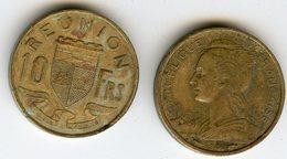 France Reunion 10 Francs 1955 KM 10 - Réunion