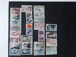 France Obliteres 1953 ,cote 116€ - 1950-1959