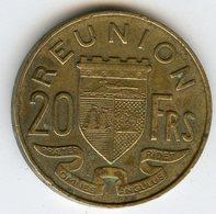 France Reunion 20 Francs 1955 KM 11 - Réunion