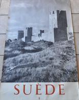 SUEDE SUEDEN - VIEILLE AFFICHE VISBY - POSTER - Afiches