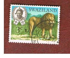 SWAZILAND     -  SG 164 -   1969  ANIMALS: LION     -   USED ° - Swaziland (1968-...)