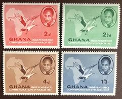 Ghana 1957 Independence Birds MNH - Ghana (1957-...)