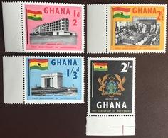 Ghana 1958 First Anniversary Of Independence MNH - Ghana (1957-...)