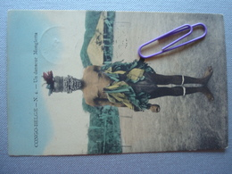 CONGO BELGE : Un Danseur MONGLETTA En 1914 - Congo Belge - Autres