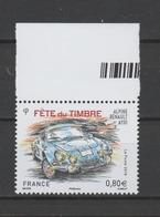 """FRANCE / 2018 / Y&T N° 5204 ** : """"Fête Du Timbre"""" (Alpine Renault A 110) BdF Haut - Gomme D'origine Intacte - France"""