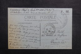 FRANCE - Carte FM D'un Légionnaire Au Camp De Bacarés En 1939 Pour Paris - L 40983 - WW II