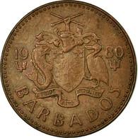 Monnaie, Barbados, Cent, 1980, Franklin Mint, TTB, Bronze, KM:10 - Barbados (Barbuda)