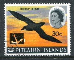 Pitcairn Islands 1967 QEII Decimal Currency Pictorials 30c On 2/6 Ghost Bird Used (SG 79) - Stamps