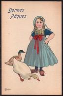 Carte Illustrateur Bottaro . Bonnes Pâques. 3046-2 - Bottaro