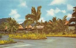 "09503 ""AMERICA - SAMOA . ENTRANCE TO PAGO PAGO'S - INTERCONTINENTAL HOTEL""  CART  SPED 1969 - Cartoline"