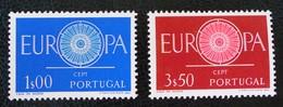 EUROPA 1960 - NEUFS ** - YT 879/80 - MI 898/99 - 1910-... République