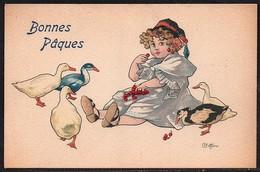 Carte Illustrateur Bottaro .Bonnes Pâques. 3046-4 - Bottaro