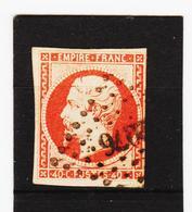 POST356 FRANKREICH 1853 Michl 15  Gestempelt SIEHE ABBILDUNG - 1853-1860 Napoléon III.
