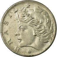 Monnaie, Brésil, 10 Centavos, 1970, TB+, Copper-nickel, KM:578.2 - Brésil