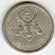 Madagascar 2 Francs 1948 KM 4 - Madagaskar