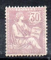 FRANCE - YT N° 128 - Neuf * - MH - Cote: 350,00 € - France