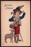 Carte Illustrateur Bottaro .Bonnes Pâques. 3046-5 - Bottaro