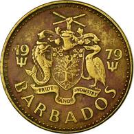 Monnaie, Barbados, 5 Cents, 1979, Franklin Mint, TTB, Laiton, KM:11 - Barbades