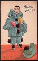 Carte Illustrateur Bottaro .Bonnes Pâques. 3046-6 - Bottaro