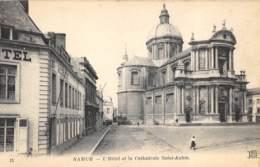 Namur - L'Hôtel Et La Cathédrale St-Aubin - ND Phot N° 15 - Namur