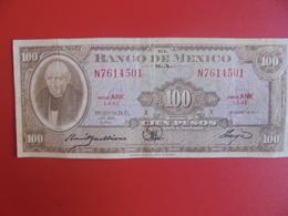 MEXIQUE 100 PESOS 1963 CIRCULER (B.6) - Mexico