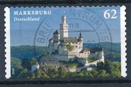 BRD Mi. 3127 Gest. Marksburg Rundstempel - Schlösser U. Burgen