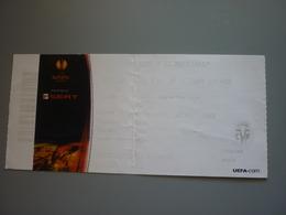 Villarreal-Dinamo Zagreb UEFA Europa League Football Match Ticket Stub 02/12/2010 - Match Tickets
