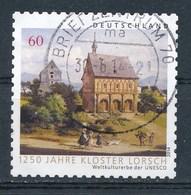 BRD Mi. 3050 Gest. 1250 Jahre Kloster Lorsch UNESCO Welterbe Rundstempel - Klöster