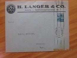 Österreich Privatganzsachenumschlag 24Gr. H.Langer &Co Wien 1936 - Briefe U. Dokumente