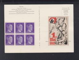 Dt. Reich AK Berlin Aufzug Der Wache Vignette 1 Mai 1933 - Deutschland