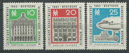 Germany DDR 1962 Year MNH(**) Mi.# 913-15 - Ungebraucht