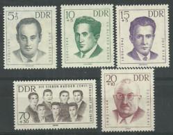 Germany DDR 1962 Year MNH(**) Mi.# 918-22 - Neufs