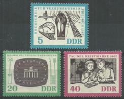 Germany DDR 1962 Year MNH(**) Mi.# 923-24 - Ungebraucht