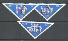 Germany DDR 1964 Year MNH(**) Mi.# 1045-47 - Neufs