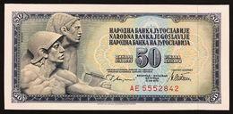 YUGOSLAVIA JUGOSLAVIA  50 Dinara 1978 Pick#89a  FDS / UNC Lotto.548 - Jugoslavia