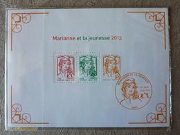 2013 Bloc Marianne Et La Jeunesse + Bloc La Vème République Au Fil Du Timbre (sous Blister)  Y&T= F4781 Et BF 133 ** MNH - Mint/Hinged